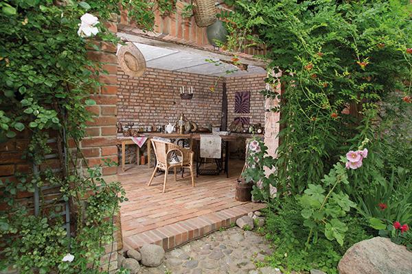 Kleiner Garten mit tolle stil für ihr wohnideen